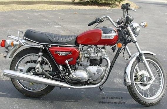 Triumph T140 Bonneville 750cc 1973 78 Parts