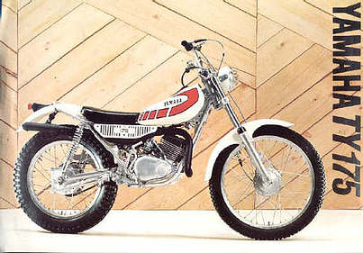 YAMAHA TY175 PARTS ALL MODELS