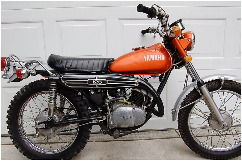 YAMAHA AT2 125/ AT2 125 ENDURO PARTS