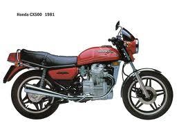 HONDA CX500 PARTS