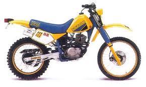 SUZUKI DR125 1985- PARTS