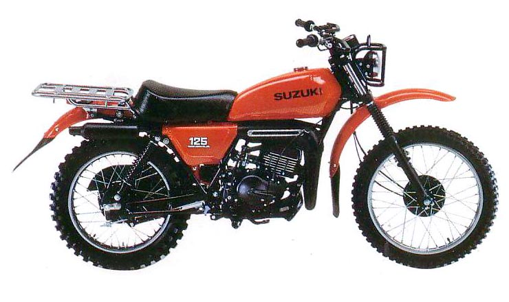 SUZUKI DS125 PARTS