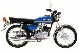 SUZUKI GP125 PARTS