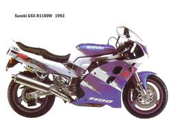 SUZUKI GSX-R1100 WP-R 1993-1994 PARTS