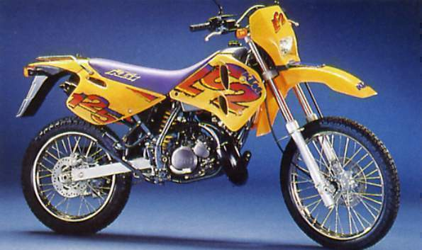 KTM LC2 125 PARTS