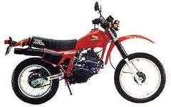 HONDA XL250RC (MD03) PARTS