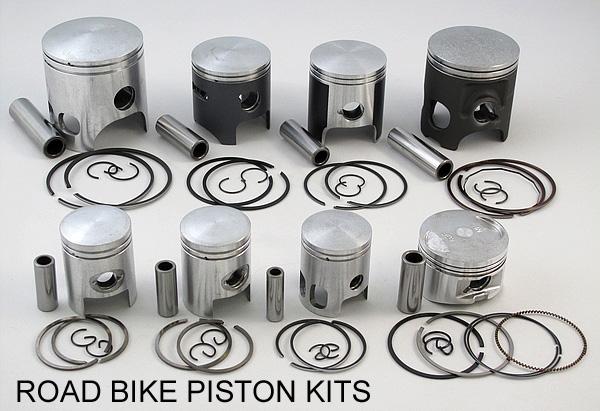 ROAD BIKE PISTON KITS AND RINGS