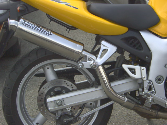 SUZUKI 4 Stroke Exhausts 600cc to 999cc Road Legal