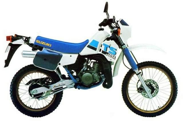 SUZUKI TS125 XE/XUE 1984- PARTS