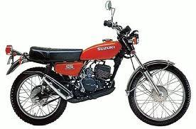 SUZUKI TS125N PARTS