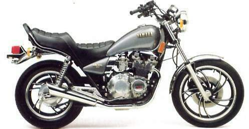 YAMAHA XJ550 MAXIM PARTS