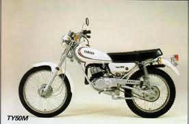 YAMAHA TY50M MOPED 1977-1981 PARTS