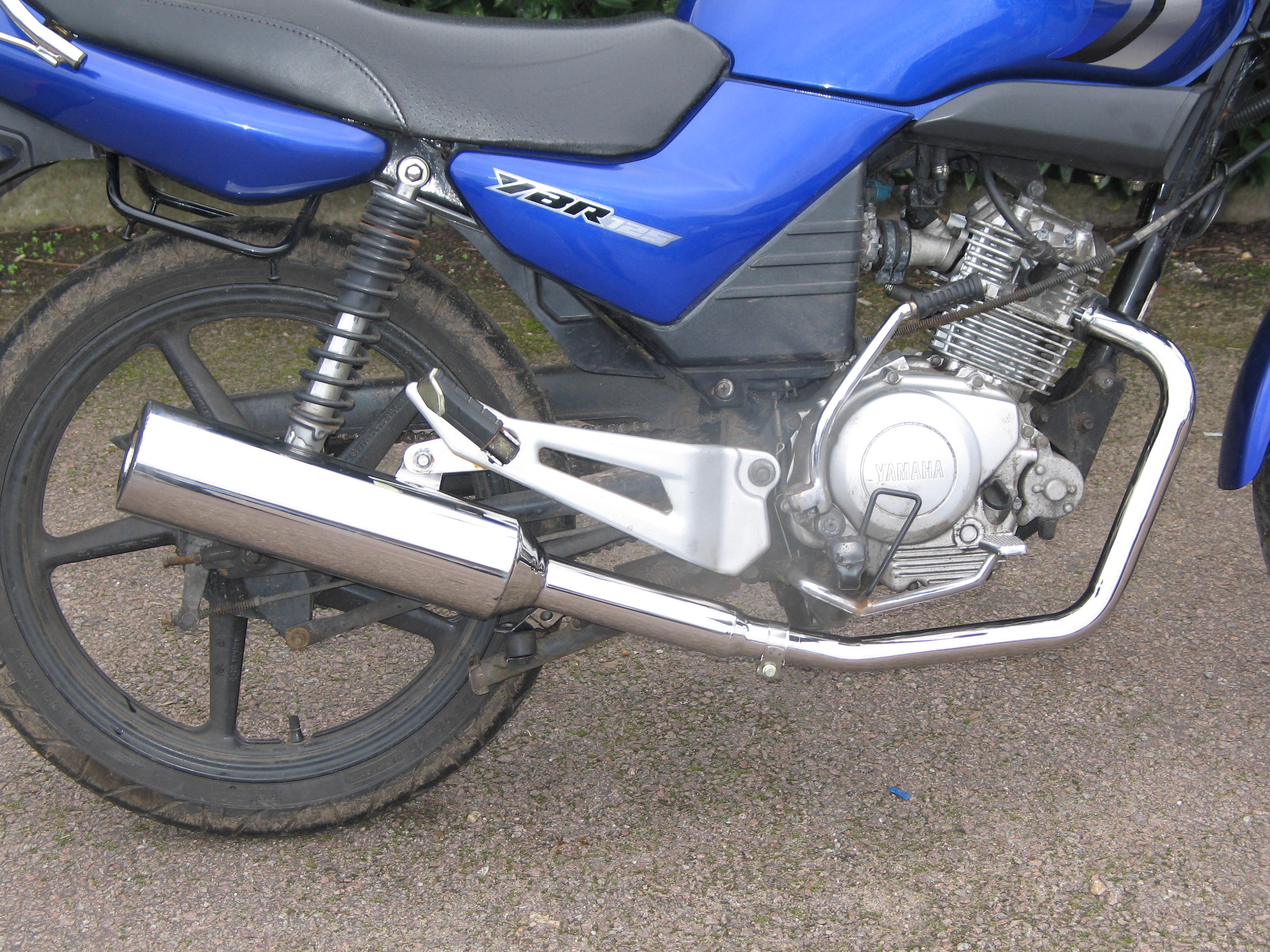 YAMAHA 4 Stroke Exhausts upto 299cc removable baffle