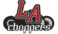 H/D LA CHOPPERS EXHAUST MUFFLER