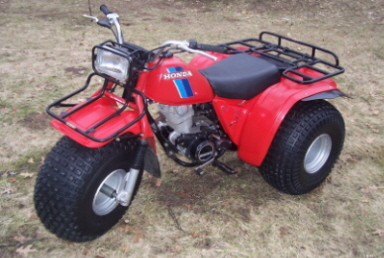HONDA ATC200E BIG RED PARTS