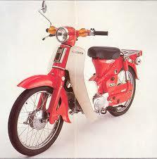 HONDA C50ZA (C50L) 1980-1983 PARTS