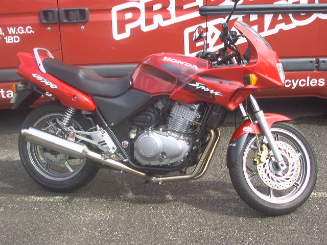 HONDA Systems 461cc to 699cc Road Legal