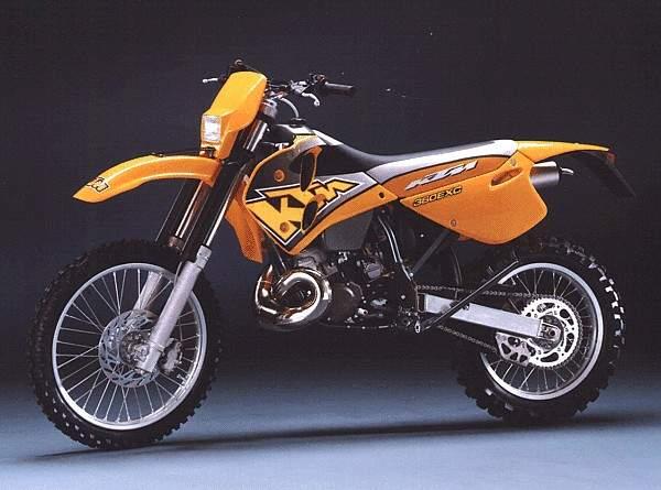 KTM EXC360 PARTS
