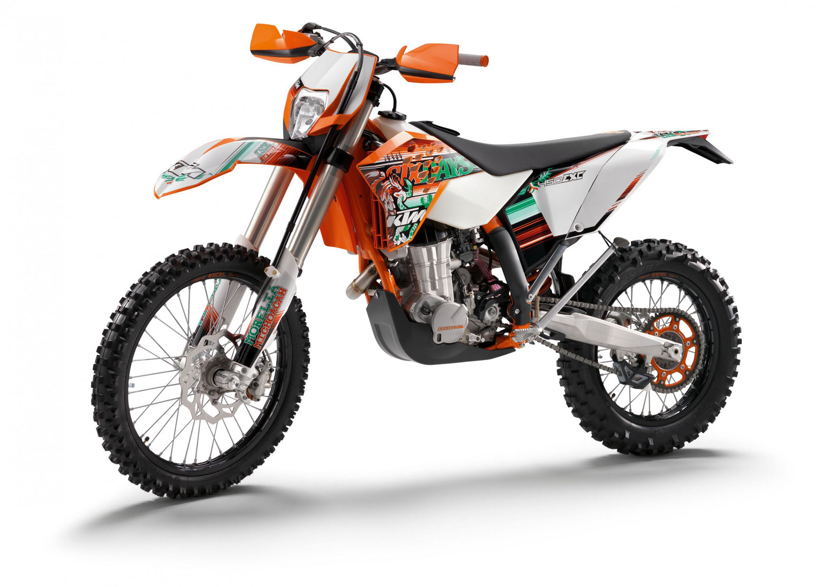 6 products KTM EXC450 RACING PARTS