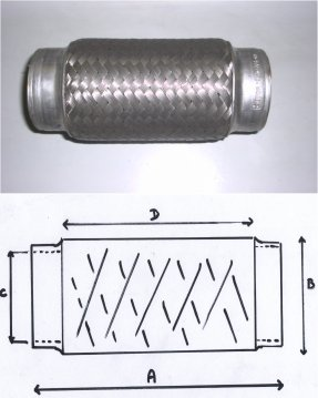 Exhaust Flexi Joints