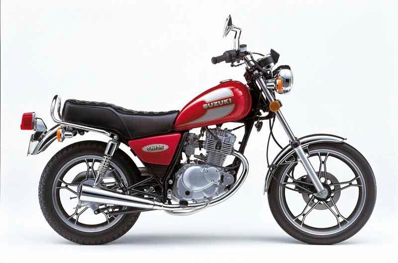 SUZUKI GN125 1994-2001 PARTS