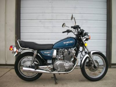 SUZUKI GS450T PARTS