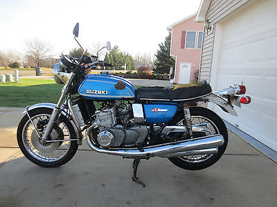 SUZUKI GT750 LEMANS PARTS