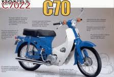 HONDA C70Z2 1977-1979 PARTS
