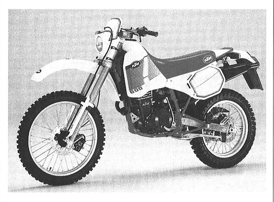 KTM INCAS 600 LC4 PARTS