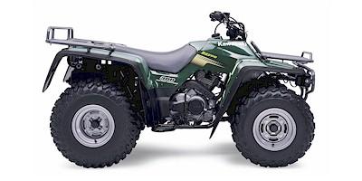 Kawasaki Bayou X Tire Size