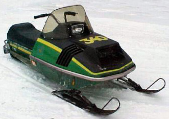 JOHN DEERE SNOWMOBILE