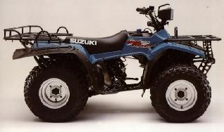 SUZUKI LT-F250F QUADRUNNER 2X4 PARTS