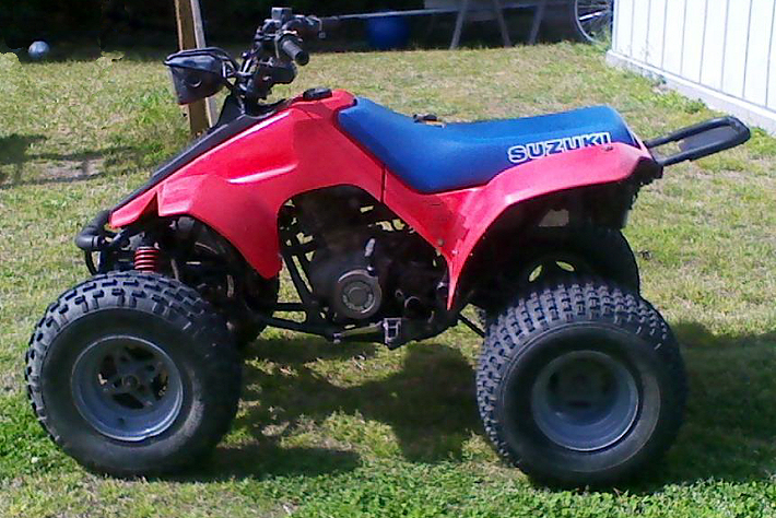 SUZUKI LT230E QUADRUNNER PARTS