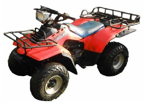SUZUKI LT300E QUADRUNNER 2X4 PARTS