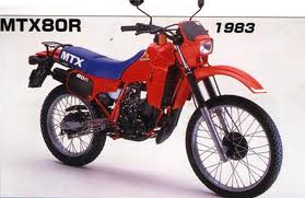 HONDA MTX80 RFD/F TRAIL 1982-1988 PARTS
