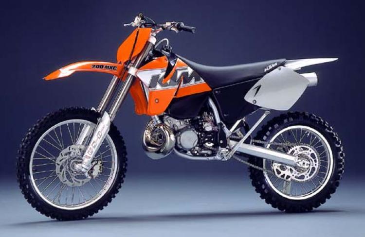 KTM MXC200 PARTS