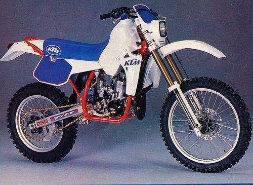 KTM MXC250 PARTS