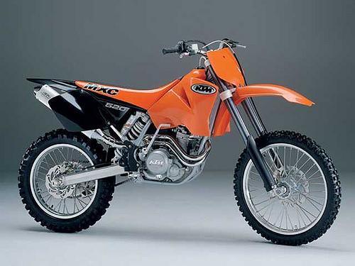 KTM MXC520 PARTS