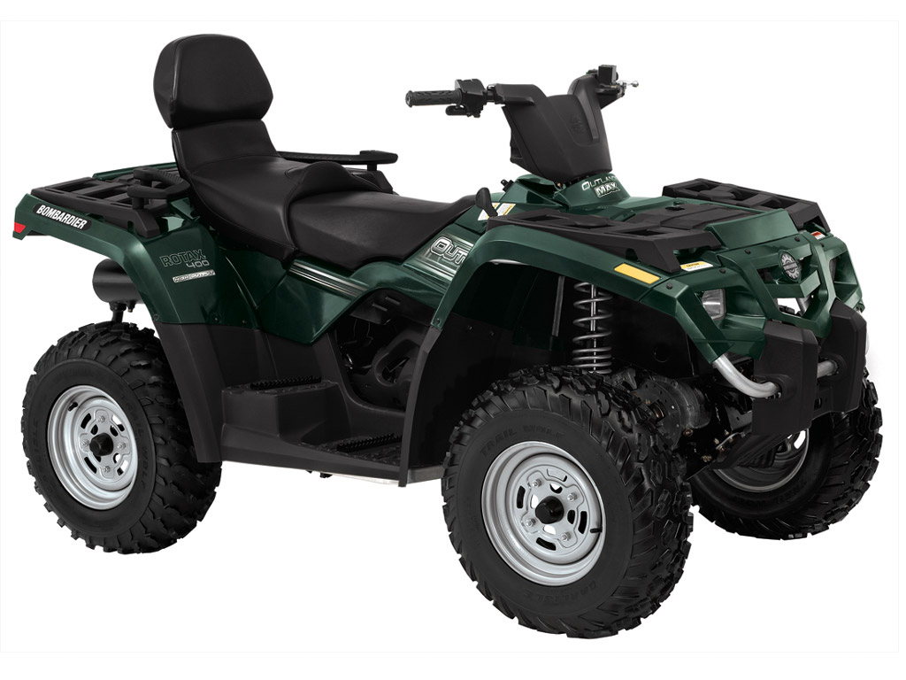 2 products CAN-AM/ BRP OUTLANDER MAX 400 HO 4X4 PARTS
