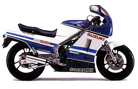 SUZUKI RG500 GAMMA PARTS