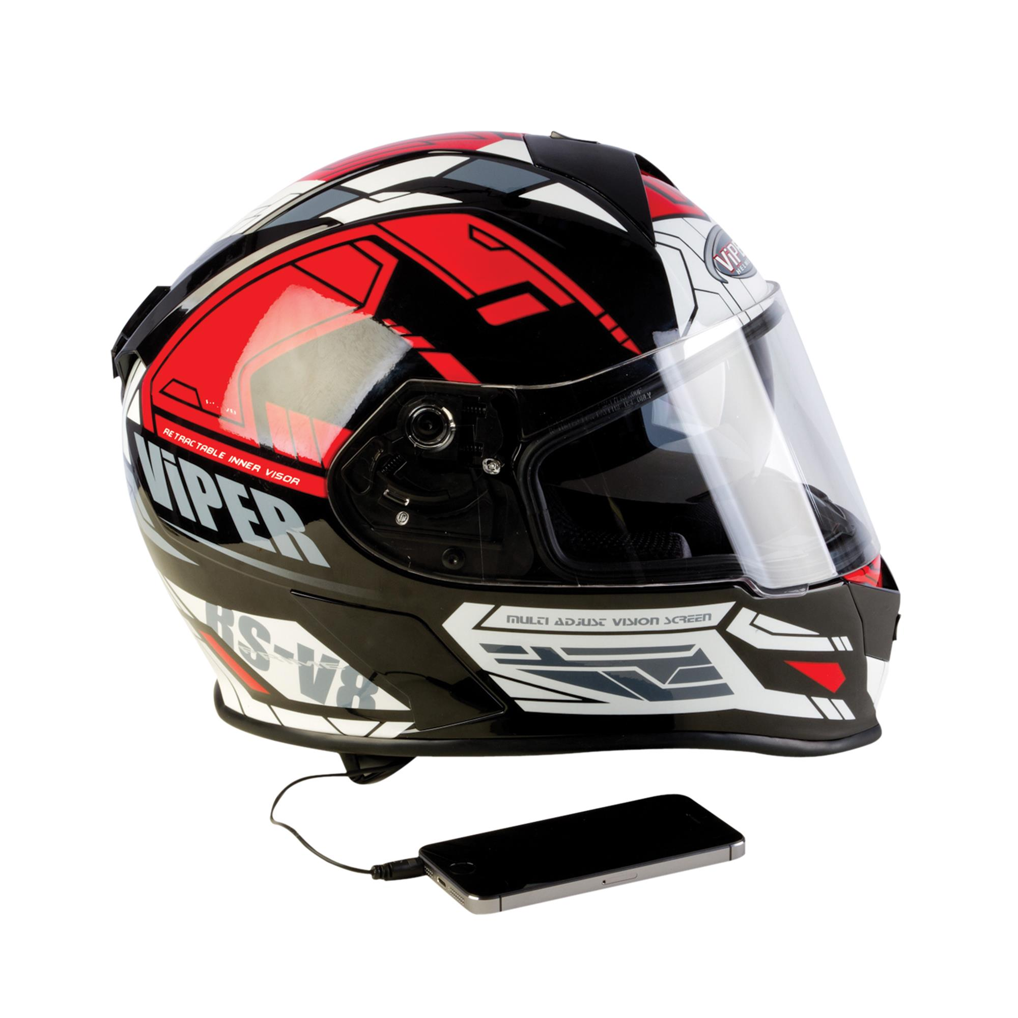 FULL FACE HELMETS WITH SPEAKERS