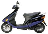 HONDA SJ100 BALI EX PARTS