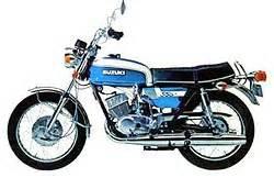 SUZUKI GT350 1969-1973 PARTS
