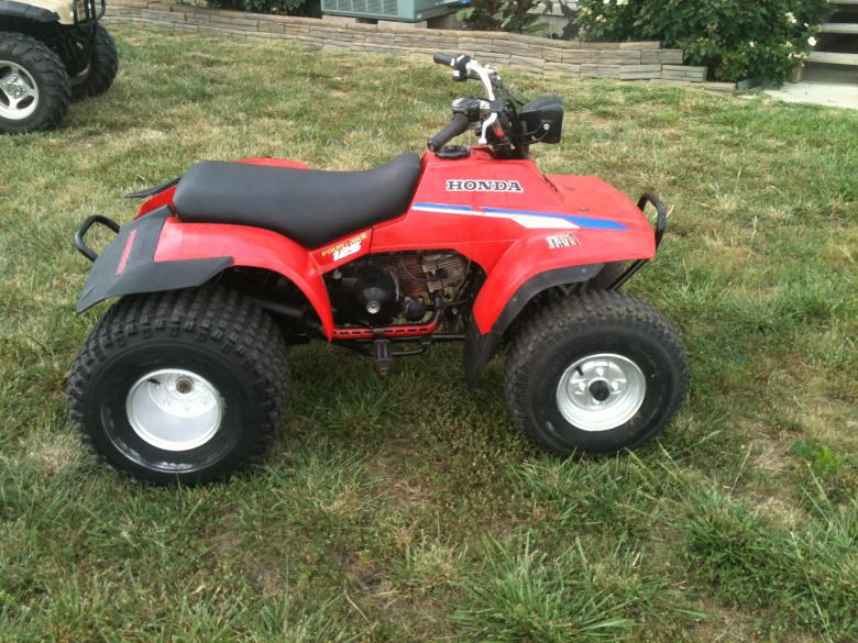 HONDA TRX125 FOURTRAX PARTS