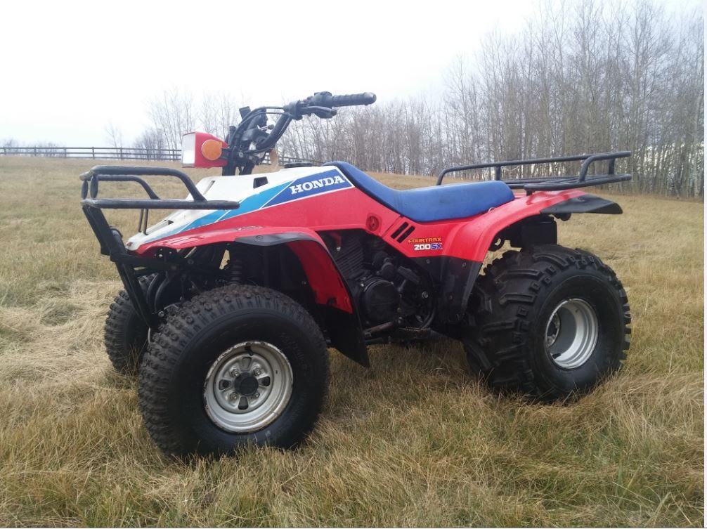 HONDA TRX200SX FOURTRAX PARTS