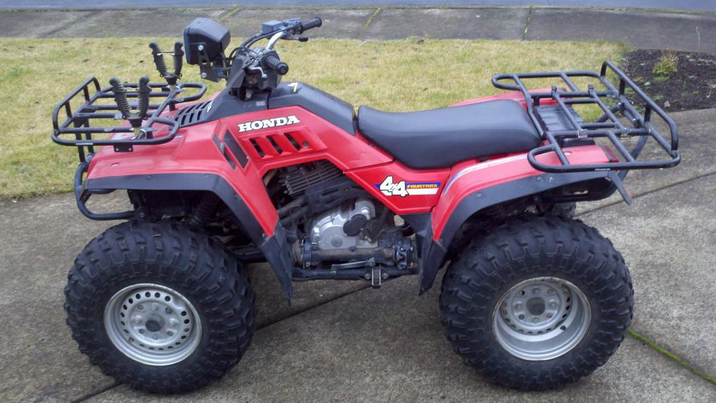 HONDA TRX350 FOURTRAX 4x4 PARTS
