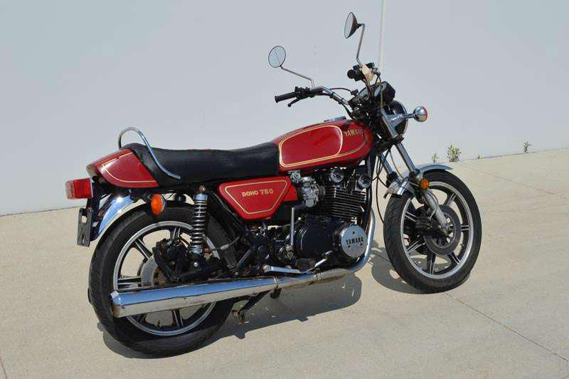 YAMAHA XS750 TOURING PARTS
