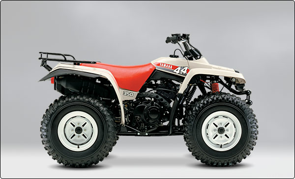 YAMAHA YFM350 FW BIG BEAR 4X4 PARTS