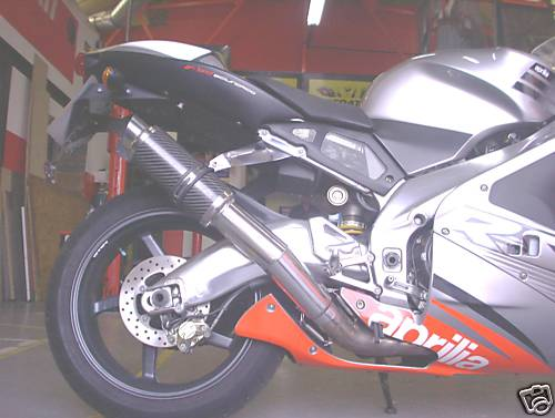 APRILIA RSV1000 MILLE 1998-2004 (MOTO GP STYLE) EXHAUST LINK PIPE