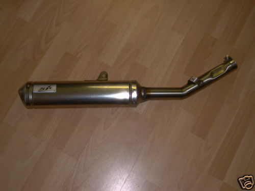 SUZUKI RMZ 250 K4 - K9 SILENT POWER SILENCER stainless steel AND OVAL ALLOY